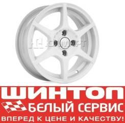 Диски литые новые Скад Ягуар Белый во Владивостоке