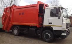 Коммаш КО-427-73. Мусоровоз КО 427-73 с портальным подъемником на шасси МАЗ 5340С2
