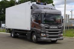 Scania. Грузовик P280 NTG 2018 + ХОУ + гидроборт, 12 700куб. см., 11 000кг., 4x2
