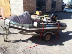 Продаю лодку Mercury Sport 360 с прицепом