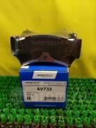Колодки тормозные дисковые Avantech (противоскрипная пластина в компл.) AV732