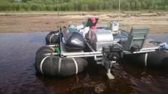 Продам Плот для сплавов по рекам с подвесным мотором