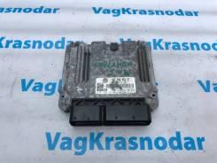 Компьютер двигателя эбу VW Passat B6 2.0 FSI