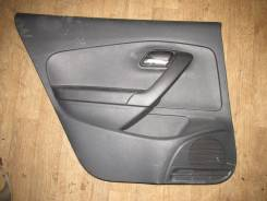 Обшивка двери задняя левая [6RU867211] для Volkswagen Polo V