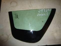 Стекло заднее левое форточка [822636739R] для Renault Logan II [арт. 297310]