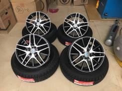"195/65R15 Bridgestone GZ + литье R15, 4-100, - все новое - 19 год. 6.0x15"" 4x100.00 ET45 ЦО 60,1мм."