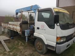 Isuzu Forward. Продам грузовик-манипулятор, 8 600куб. см., 5 000кг., 4x2