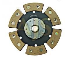 Диск сцепления керамический AJS ВАЗ 2112 6 лепестков, бездемпфер, металлокерамика