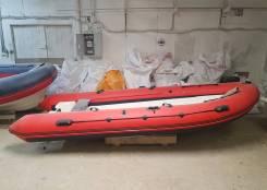 Лодка RIB, съемные баллоны, длина 390см