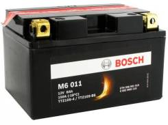 Мото аккумулятор Bosch M6 011 YTZ10S-BS, YTX7A 8Ач 150А (гелевый)