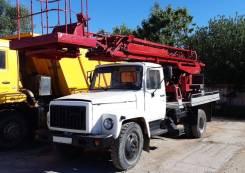 ГАЗ 3307. Автовышка телескопическая АП-17А на шасси , 1999г., 17 метров, 4 250куб. см., 17,00м.