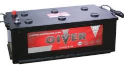 Аккумулятор Giver 6СТ-190 (Узкий, Конус) 190Ач 1250А РМРС