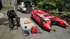 Лодка ПВХ SVAT ZYD360 с мотором Golfstream 9,9 (15л/с)