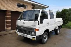 Toyota Hiace. Продам двухкабинник Truck 1993 гв, 2 400куб. см., 750кг., 4x4