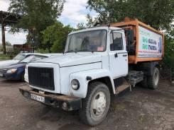 Коммаш КО-440-3. Продам мусоровоз КО 440-3 на шасси ГАЗ 3307, 4 670куб. см.