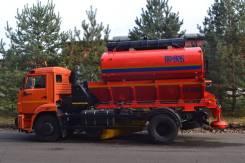 КО-806 на шасси КАМАЗ-43253-3010-69 (ПС+ПМ(низконапорн. мойка)+отв.+щет.) Е-5. КО-806 на шасси Камаз-43253-3010-69 (ПС+ПМ(низконапорн. мойка)+отв. +ще