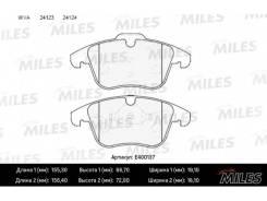 Колодки тормозные (Смесь Low-Metallic) передние (FORD GALAXY, MONDEO IV, ПОДХОДИТ ДЛЯ VOLVO S60 II, S80 II) (без датчика) (TRW GDB1683) E400137 miles...