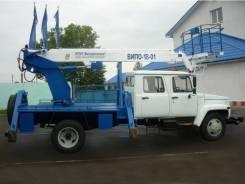 Випо-18. ВИПО-18-01 автогидроподъемник на шасси ГАЗ-33088 (4х4) (5м. каб)