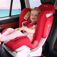 Детское-Автокресло SisterBeBe Capsule JM03 0-25 кг. красный/алый