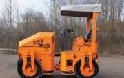 Завод ДМ. ДМ02 масса 1,5 т Каток тротуарный двухвальцовый вибрационный