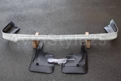 Губа задняя Land Cruiser 200, 2007-2011 год. Белый перламутр