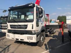 Daewoo Novus. Бортовой-грузовой(воровайка) 390PS, 6*4 с КМУ Z-TON 876, 11 000куб. см., 15 500кг., 6x4