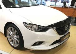 Дефлектор капота для Mazda 6 2013-2019 год.