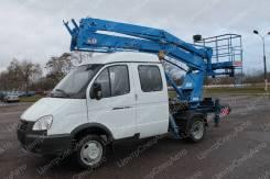 """ГАЗ 33023. Автовышка ГАЗ-33023 Фермер """"ГАЗель-Бизнес"""" коленчатая ПМС-212-02, 12 м, 2 690куб. см., 12,00м."""