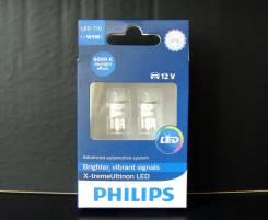 Philips лампы в габариты LED T10 X-treme Vision 6000K (2 шт. )