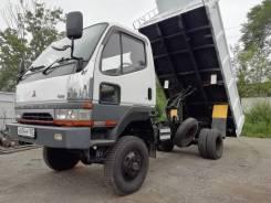 Mitsubishi Fuso Canter. Mitsubishi Canter 4WD широкобазый мостовой рессорный самосвал, 4 600куб. см., 3 000кг., 4x4