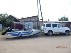 Продам Прогресс 4 с мотором Меркурий 50 в Новой Игирме