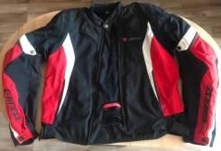 Мотокуртка мужская Dainese G. Crono TEX 678 NERO/Rosso/Bianco