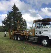 Mack. Пересадчик (пересаживатель) деревьев Big John 90 дюймов, 15 000куб. см., 12 000кг.