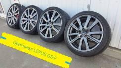 "235-40/265-35-19 оригинал Lexus GS-F в наличии. 8.0/9.0x19"" 5x114.30 ET45/60 ЦО 60,1мм."