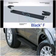 Подножки пороги Renault Kaptur с 2016г Black