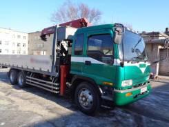 Isuzu Forward. Бортовой грузовик с манипулятором в Уссурийске, 7 200куб. см., 12 000кг., 6x4