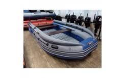 Лодка ПВХ REEF SKAT 400 S с фальшбортом НД + подарок