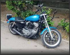 Harley-Davidson Sportster 883 Low XL883L, 2011
