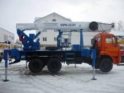 Випо-32. ВИПО-32-01 АГП на базе Камаз-43118 (6*6), 32,00м.
