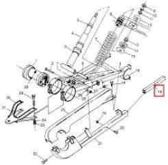 Успокоитель цепи Polaris Sportsman 500 6 x 6 5521279