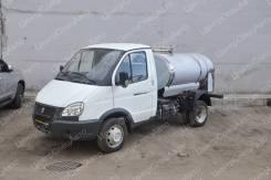 """ГАЗ 3302. Молоковоз / Водовоз ГАЗ-3302 """"ГАЗель-Бизнес"""" (пищевая цистерна), 2 690куб. см., 1 660кг., 4x2"""