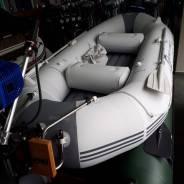 Гребная лодка 3м с возможностью установки навесного транца