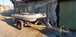 Лодка ПВХ SVAT 3,2метра с прицепом