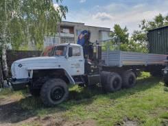 Урал. с КМУ 8 тонн + полуприцеп, 11 500куб. см., 16 600кг., 6x6
