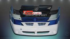 Бампер. Renault Logan Двигатели: D4D, D4F, K4M, K7J, K7M, K9K