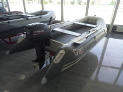Продам лодку Badger с надувным дном ДНД и мотором Yamaha 15 сил