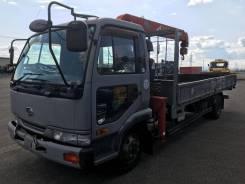 Nissan Diesel Condor. Продается манипулятор Nissan Condor, 6 925куб. см., 5 000кг., 4x2