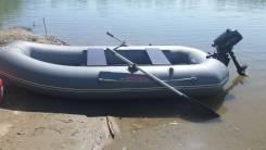 "Продам лодку ПВХ ""Мурена"" - 300 с мотором Хайди 2.5л. с."
