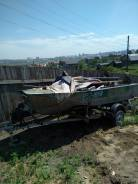 Лодка Воронеж с мотором