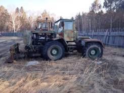 ХТЗ Т-150. Трактор Т-150 (фреза+отвал) ПЗМ-2, 165 л.с.